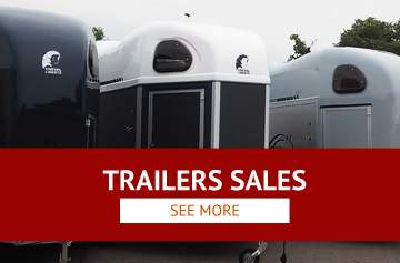 Sale of horse transport trailers